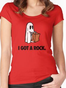 I GOT A ROCK. Women's Fitted Scoop T-Shirt