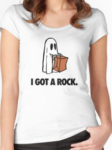 I GOT A ROCK. Women's Fitted Scoop T-Shirt