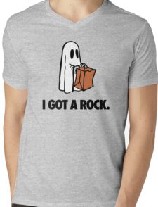 I GOT A ROCK. Mens V-Neck T-Shirt
