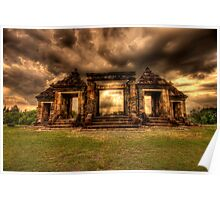 Ratu Boko - an ancient Indonesian Kingdom Poster