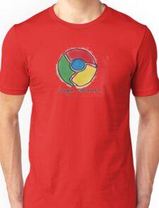 Google Chrome Internet Browser T Shirt Unisex T-Shirt