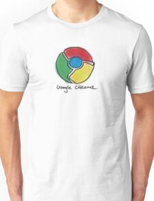 Google Chrome Internet Browser T Shirt Unisex T-Shirt