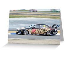 Dick Johnson Racing - Dean Fiore Greeting Card