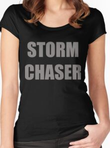 Storm Chaser Women's Fitted Scoop T-Shirt