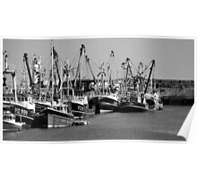 Newlyn Harbour. Poster