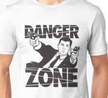 danger zone acher  Unisex T-Shirt