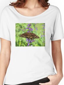 Miss Butterfly Brown Women's Relaxed Fit T-Shirt