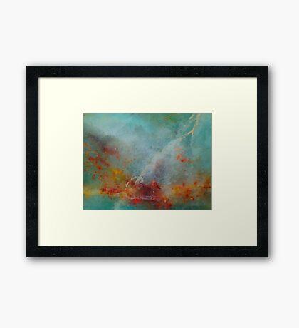 Wildfire by Lightning Framed Print