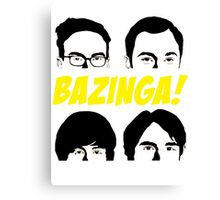 Bazinga 2 Canvas Print