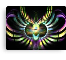 Electric Wings Canvas Print