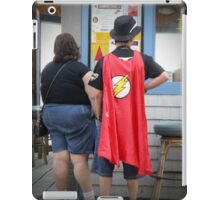 Superheroes Need Breaks Too iPad Case/Skin