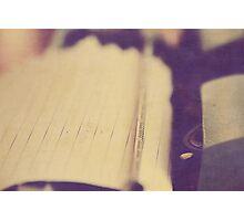 Aged Type Writer Photographic Print