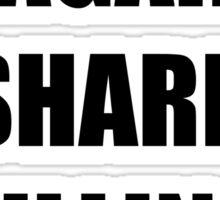 I'm against shark culling! Sticker