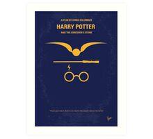 No101 My Harry Potter minimal movie poster Art Print