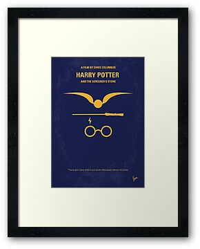 No101 My Harry Potter minimal movie poster by Chungkong