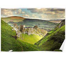 Peveril Castle, Castleton Poster