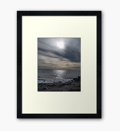 The Calm Before Framed Print