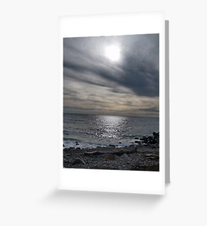 The Calm Before Greeting Card