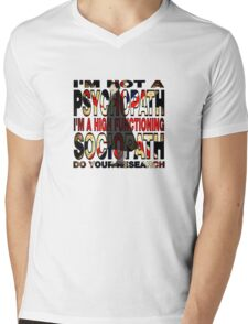 Sherlock Holmes Mens V-Neck T-Shirt