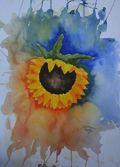 Sunflower by Tanja Udelhofen