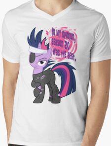Future Twilight Mens V-Neck T-Shirt