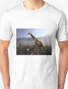 african animal soccer T-Shirt