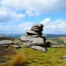 Hathersage Budda - The Rock Man by Mark Baldwyn