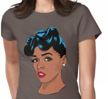 Janelle Monae Womens Fitted T-Shirt