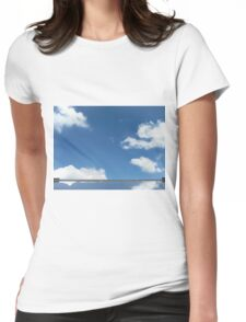 cloud mirror Womens Fitted T-Shirt