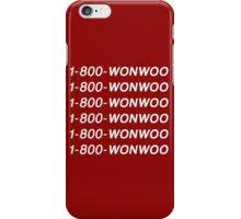 SEVENTEEN 1-800-WONWOO iPhone Case/Skin