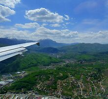 Central Bosnia Seen From The Air by HELUA