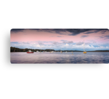 East of the Gibbers  Canvas Print