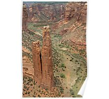 Spider Rock, Canyon de Chelley, Arizona Poster