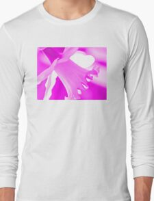 Pink Daffodil Long Sleeve T-Shirt