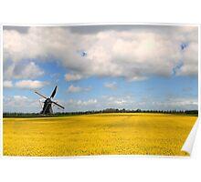 Mill Zeldenrust Groningen Poster