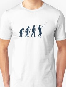 Evolution of Fishing T-Shirt
