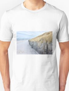 Beach day in late autumn Unisex T-Shirt