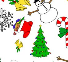 Christmas (multiple) Sticker