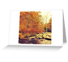 Out Of Doors Greeting Card