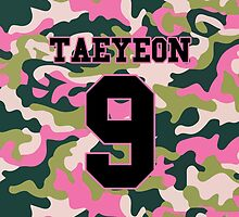 Girls' Generation (SNSD) Taeyeon 'PINK ARMY' by ikpopstore