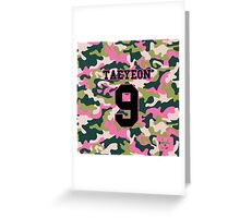 Girls' Generation (SNSD) Taeyeon 'PINK ARMY' Greeting Card