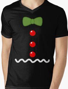 Gingerbread Man Costume Mens V-Neck T-Shirt