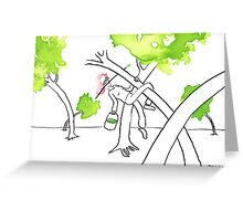 Spring is in the tree Greeting Card