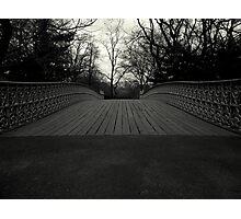 Bow Bridge - Central Park Photographic Print