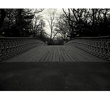Bow Bridge - Central Park Photographic Print