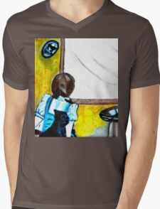 WIZARD OF OZ, INSIDE THE TWISTER Mens V-Neck T-Shirt