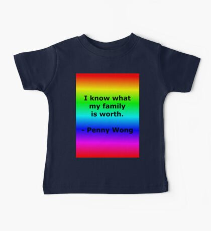 Penny Wong's Family Baby Tee