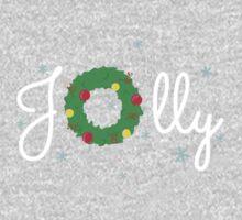 Jolly Wreath Kids Tee