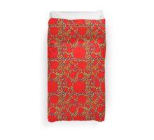 Random Tiling Red Duvet Cover