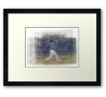 Jose Bautista Swing Bat Flip Framed Print